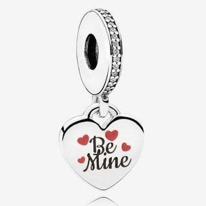 Pandora Be Mine Dangle Charm